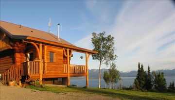 Homer chateau / country house rental - Panoramic views of Kachemak Bay, Homer Spit mountains