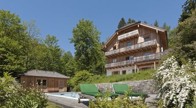 Spacious villa with magnificent sea views and pool in St. Gilgen in Salzburg