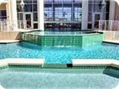 indoor/outdoor heated multi level pool