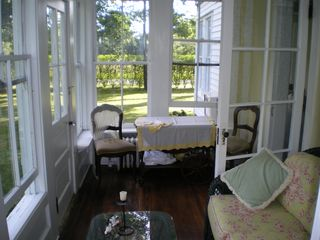 Southampton farmhouse photo - Sun Room