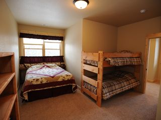 Estes Park condo photo - Third Bedroom with Queen and Bunk Bed (in each 3 bedroom condo)