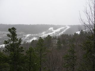 Massanutten house photo - Enjoy fantastic views of the slopes in winter from our top deck!