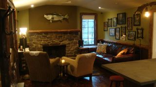 Tannersville cabin photo - Living room