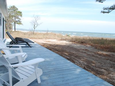 Bucolic Beach Living. Sweeping Views. Steps To And