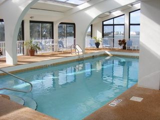 Gulf Shores condo photo - Enjoy the inside pool