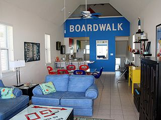 St George Island cottage photo - Monopoly game room