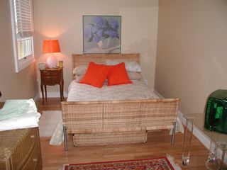 Hampton Bays cottage photo - downstairs bedroom (full bed)