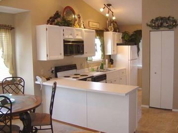 Branson West condo rental - Full Kitchen with everything provided...except the food