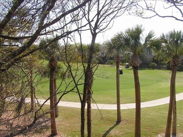 View of 18th Fairway from Villa Deck