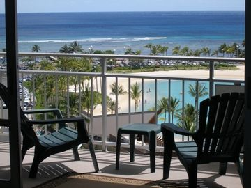 Waikiki condo rental - View does not get better than this !!!