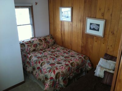 Upstairs full and twin bed room
