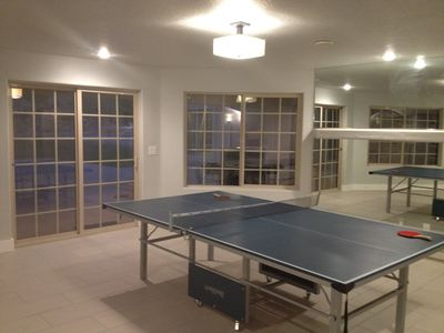 Ping Pong/Game Room