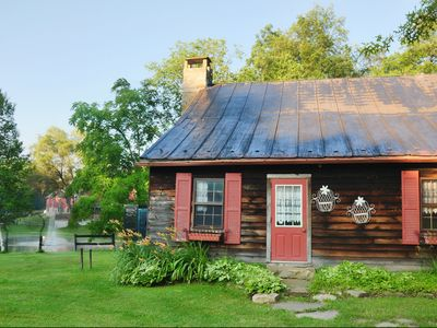 Need more space? Ask about renting the 2 BR / 1 BA 1840s cabin also!