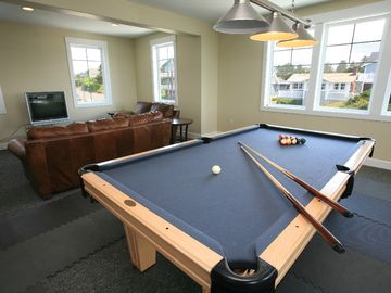 Join Your Friends For Pool and Cards In The Game Room