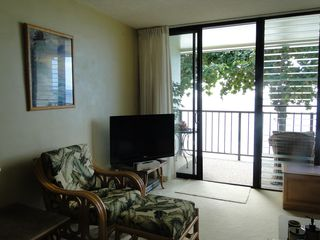 Haleiwa condo photo - large flat screen cable TV