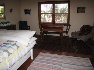 Truchas house rental - smaller guest bedroom