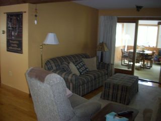 .main level full sofa bed - Gilford cottage vacation rental photo