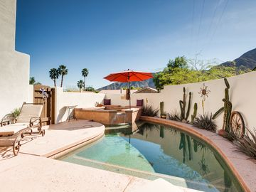 La Quinta house rental - Pool - Take a dip in the salt water pool!