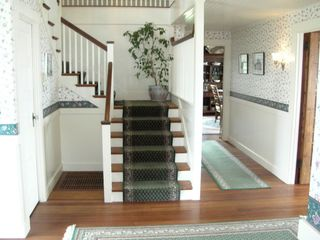 West Yarmouth house photo - Entry Foyer and Main Staircase
