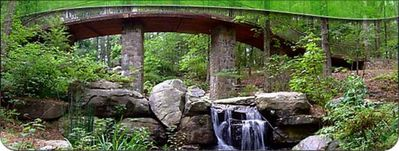 Visit Garvan Woodland Gardens any time of the year! Just 7 min. from the Condo.