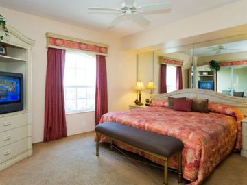 Master Bedroom at the Mystic Dunes Resort