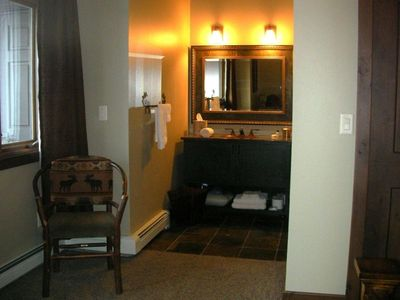 Lodge Bedroom's Vanity Area