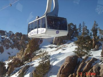 Squaw Valley's Cable Car to High Camp