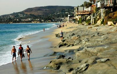 Laguna Beach house rental - The Beach is a short stroll away and it's beautiful!