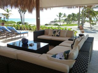 "Punta Cana villa photo - The most popular ""room"" in the house."