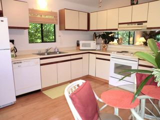 Wailua house photo - Fully Equipped Kitchen with new frodge and ice maker!
