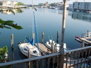 Stone Harbor property rental photo - Swim, fish, kayak, crab, float from the docks.
