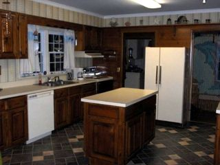 Chincoteague Island house rental - Kitchen--Fully equipped w. mircrowave, coffe maker and grinder, blender, etc.