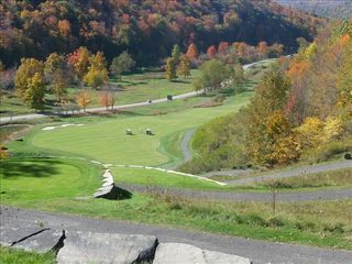 Snowshoe Mountain condo photo - Raven GC - View from the 4th hole