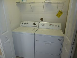 Carolina Beach condo photo - Washer\Dryer in Closet