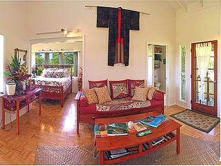 Wood Valley Pahala cottage photo - Beautifully decorated with all the comforts of home.