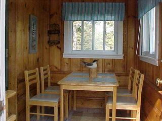 Dennisport cottage photo - Breakfast Room....Seats 4 Comfortably