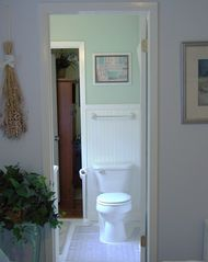 Gulfport cottage photo - View into bathroom which can be acessed from two rooms.