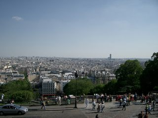 18th Arrondissement Montmartre apartment photo - View of Paris from the Sacre-Coeur