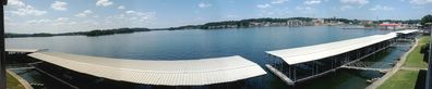 Panorama shot from deck