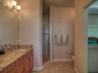 Bradenton Beach condo photo - Spacious Master Bathroom-Enclosed shower with 2 Massaging Shower heads
