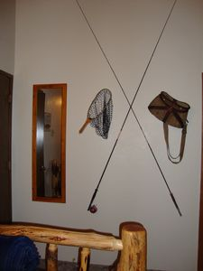 Klamath Falls cabin rental - You don't have to be an avid fisherman to enjoy the cabin.