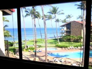 View from Master Bedroom, absolutely stunning!!! - Lahaina condo vacation rental photo