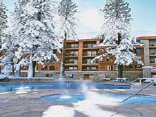 Stateline condo photo - Heated Pool in Winter