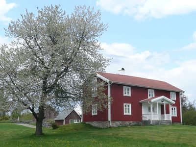 Småland farm with a rural feeling