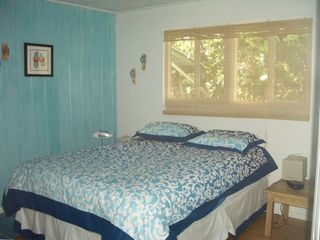 "The ""blue"" bedroom."