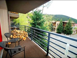 Keystone condo photo - Relax on Your Own Private Balcony