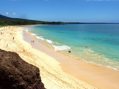 World famous Makena beach is near our resort.