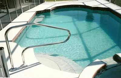Rotonda villa rental - Solar Heated Swimming Pool