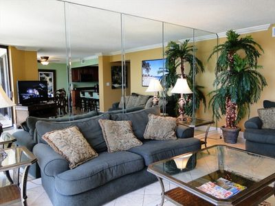 Beautifully appointed and spacious living area