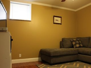 St. Louis apartment photo - Living room with new couch with chase lounge and 300 channel Uverse cable.